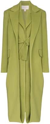 MATÉRIEL layered wool coat