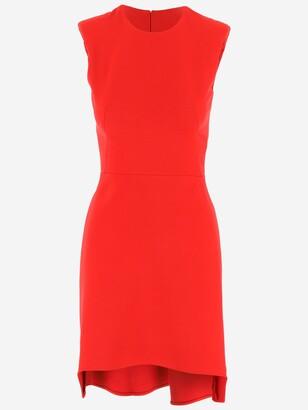Alexander McQueen Asymmetric Hem Dress