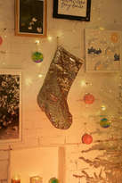 Urban Outfitters Mermaid Reversible Sequin Holiday Stocking