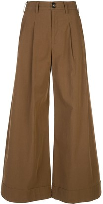 Co Winter Poplin Trousers