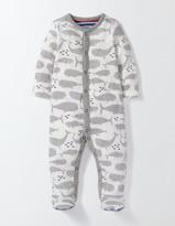 Boden Whales Super Soft Sleepsuit