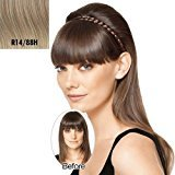 Hair U Wear Hairdo French Braid Band Synthetic Hairpiece (R14/88H Golden Wheat)