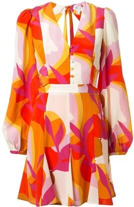 Rebecca Vallance Paradise printed mini dress