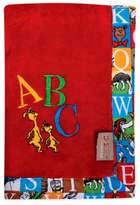 Trend Lab Dr. SeussTM by Alphabet Seuss Coral Fleece Receiving Blanket