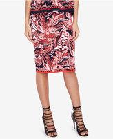 Rachel Roy Jacquard Pencil Skirt, Created for Macy's