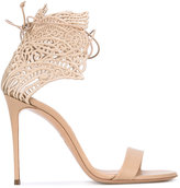 Casadei Teatro evening sandals - women - Leather/Nappa Leather/Polyester - 37