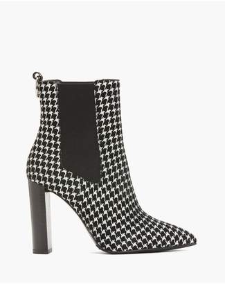 Paige Kingston Boot - Houndstooth Suede