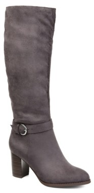 Journee Collection Joelle Wide Calf Riding Boot