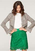 Milly Lace Modern Mini Skirt