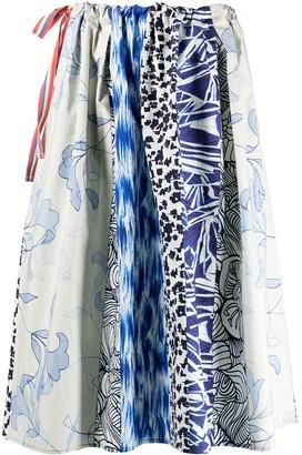 Pierre Louis Mascia All-Over Print Skirt