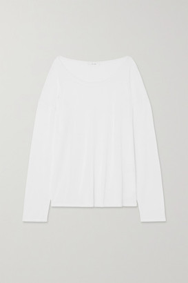 The Row Emilia Cotton Top - White
