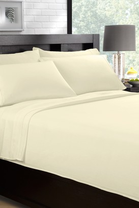 Ella Jayne Home Premium Cotton Full Sheet Set - Ivory