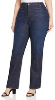 Eileen Fisher Plus Bootcut Jeans in Blue Indigo