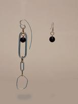 Diane von Furstenberg Asymmetric Ring Earrings