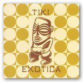 "McGaw Graphics Tiki Exotica by Tiki Series 10""x10"" Art Print Poster"
