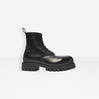Balenciaga Strike Lace-Up Boot