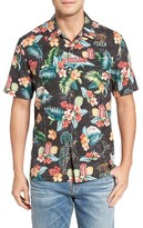 Tommy Bahama Men's Big & Tall Poker Days Silk Camp Shirt