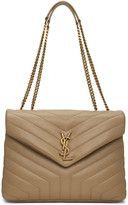 Saint Laurent Beige Medium Loulou Bag
