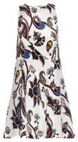 Mary Katrantzou Macbay Urdu paisley-print silk mini dress