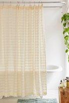 Urban Outfitters Eyelash Fringe Shower Curtain