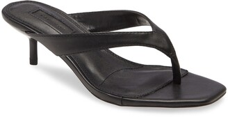 Topshop Nina Mini Heel Mule Sandal
