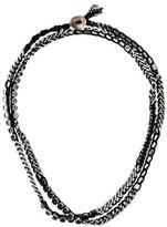 Chan Luu Long Crystal Cord Necklace