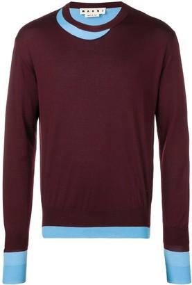 Marni Layered Style Sweater