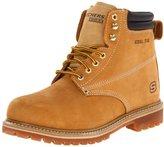 Skechers for Work Men's Foreman Steel Toed Work Shoe