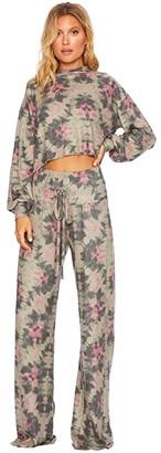 Beach Riot Riot Lounge Pants (Four Leaf Clover) Women's Casual Pants