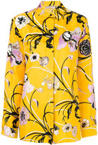 Emilio Pucci embroidered flower shirt