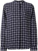 Courreges 'Grid' shirt - women - Viscose - 36