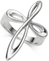 Nambe Infinity Cross Ring in Sterling Silver
