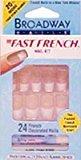 Kiss Broadway Fast French Slope 24 pcs sku# 904546MA