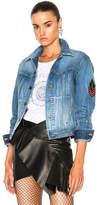 Saint Laurent Patch Denim Jacket