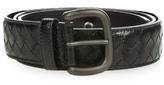 Bottega Veneta Intrecciato Snakeskin 3.5cm Belt