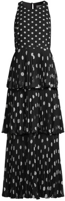 Milly Emiliana Polka Dot Gown