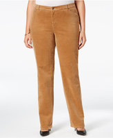 Plus Size Corduroy Pants - ShopStyle