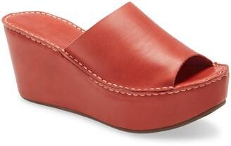 Chocolat Blu Westbrook Platform Slide Sandal