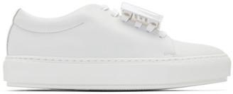 Acne Studios White Adriana Turn Up Sneakers