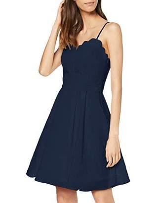 Vila CLOTHES Women's Vilinea Strap Dress/STU,(Size: 36)