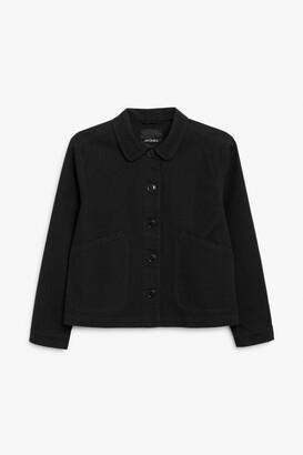 Monki Cropped boxy jacket