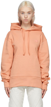Acne Studios Pink Patch Hoodie