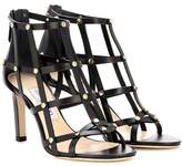 Jimmy Choo Tina 85 leather sandals
