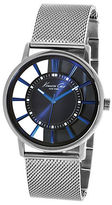 Kenneth Cole Mens Stainless Steel Contrast Watch