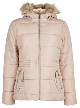 Dorothy Perkins Womens Petite Pink Hooded Coat, Pink