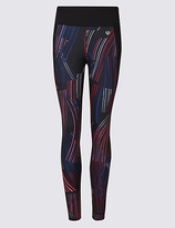 M&S Collection Quick Dry Printed Leggings