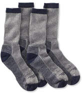 L.L. Bean Cresta No Fly Zone Hiking Socks, Lightweight Two-Pack
