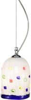 Voltolina Meg - White Murano Handmade Glass Pendant Lamp