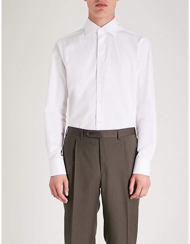 Canali Diamond modern-fit shirt