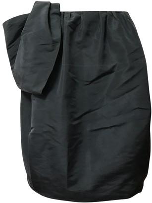 Prada Blue Silk Skirt for Women